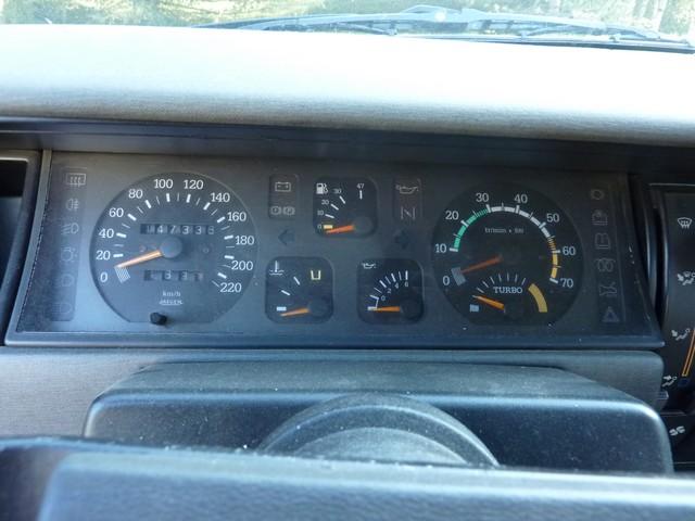 Renault 11 Turbo Zender Compteur