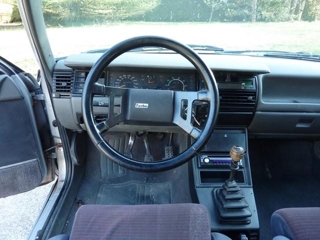 Renault 11 Turbo Zender Conduite