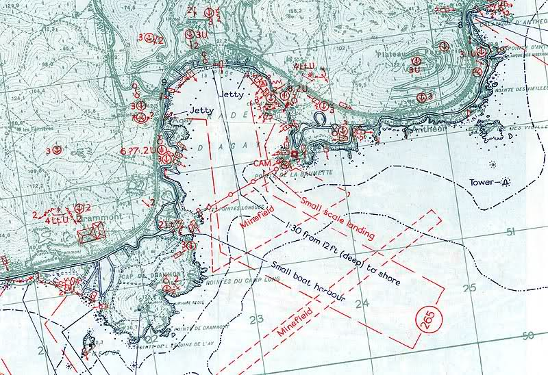 Invasion Beach Maps / Cartes Bigot Débarquement Rqzwpw