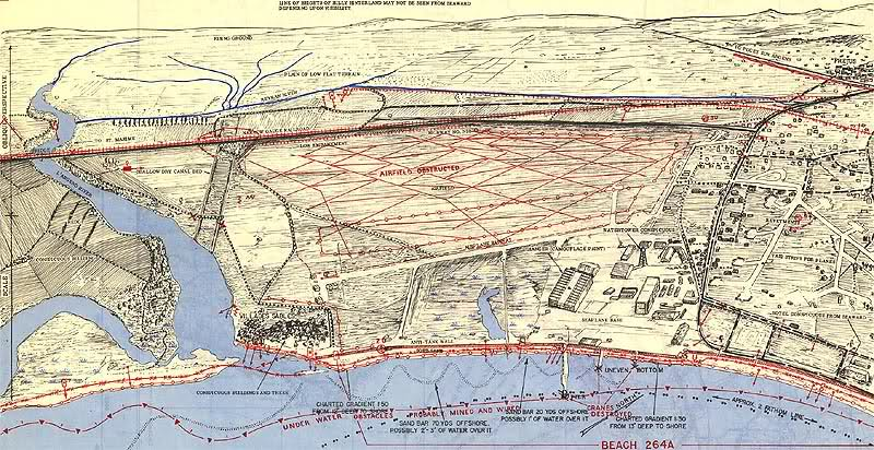 Invasion Beach Maps / Cartes Bigot Débarquement Rqzzwx