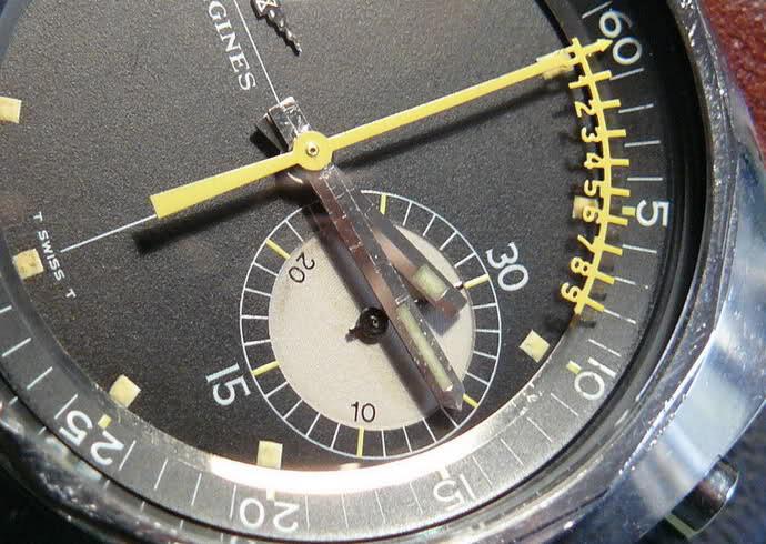 vernier - Chronographe Longines 30 CH Vernier...pressé s'abstenir 85a98oi