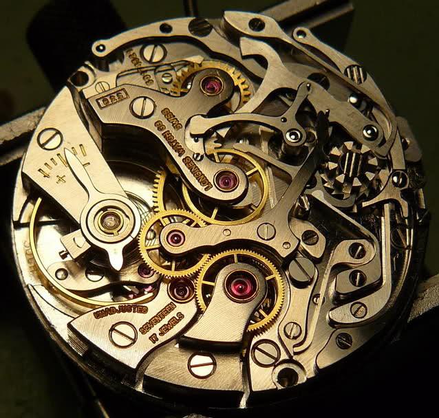 vernier - Chronographe Longines 30 CH Vernier...pressé s'abstenir 8b401l1