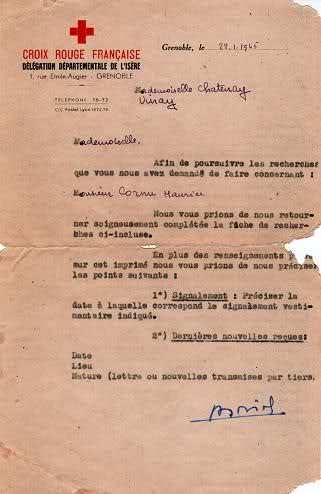 Maurice CORNU section CHABAL 6ème BCA 8f1qe81
