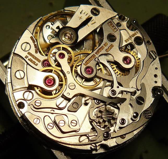 vernier - Chronographe Longines 30 CH Vernier...pressé s'abstenir 8b4iwk2