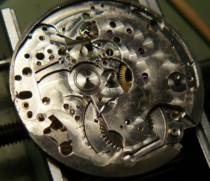 Chronographe Excelsior Park 40...huileux 8f9ucuv
