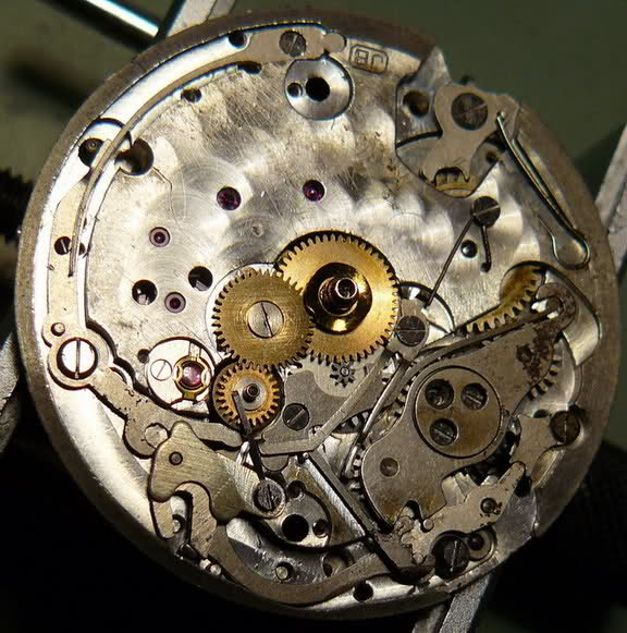Chronographe Excelsior Park 40...huileux 8bsbkzl