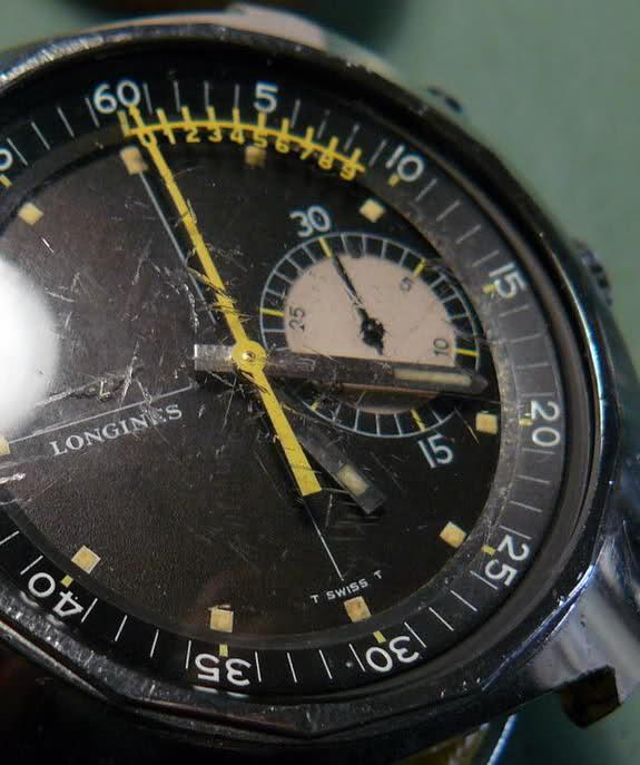 vernier - Chronographe Longines 30 CH Vernier...pressé s'abstenir 85o1ymf