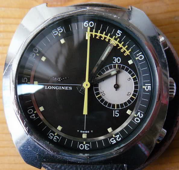 vernier - Chronographe Longines 30 CH Vernier...pressé s'abstenir 81u729w