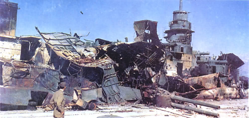 Le sabordage de la Flotte à Toulon (83) 27/11/1942 23ivvrd