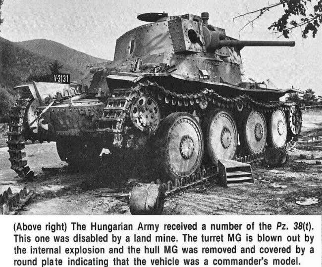 Panzerstellung Pz 38 (t) Taoc2d