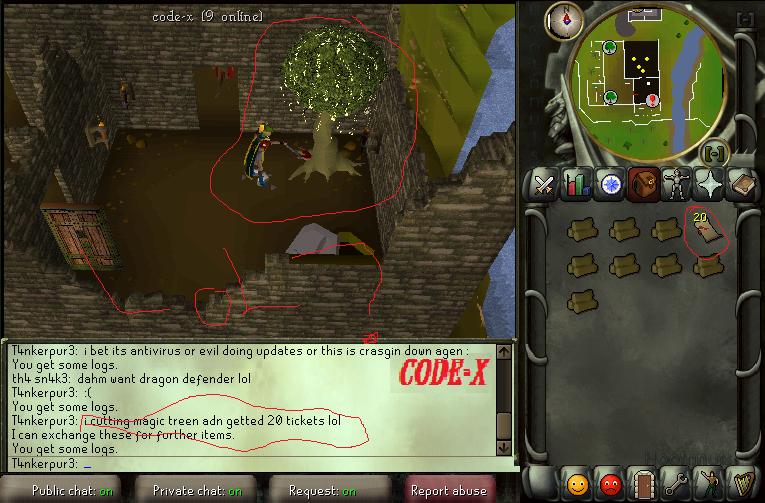 I was cutting magic tree and... 15nafpl