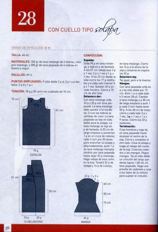 chaqueta mujer 28hod3o