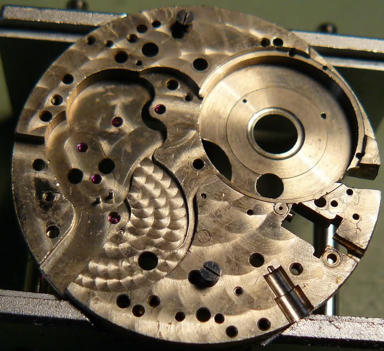 Chronographe Breitling Premier 1946 venus 175 3 compteurs 2aimy36