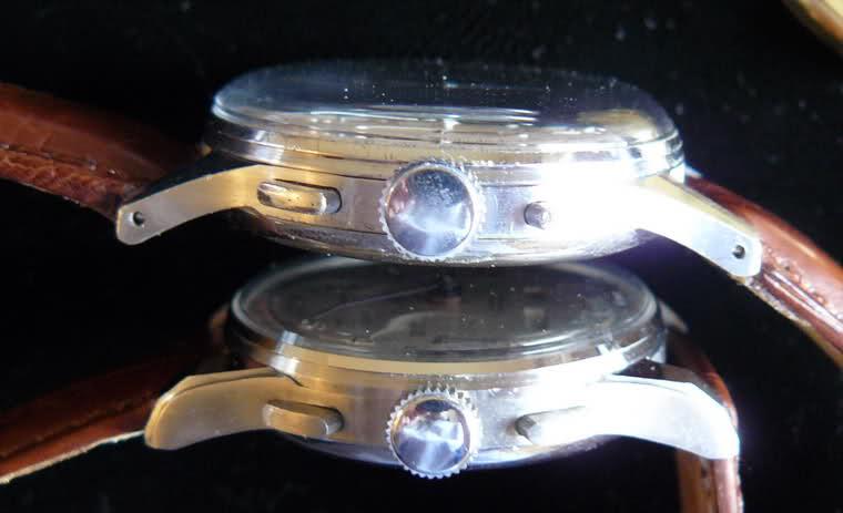 Chronographe Breitling Premier 1946 venus 175 3 compteurs 2mrha4j