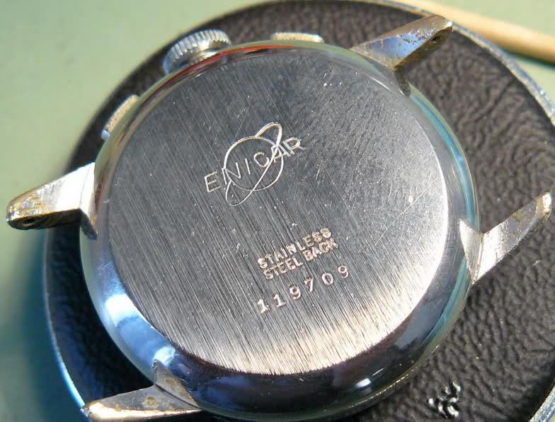 Chronographe Enicar R92 2uyj4t4