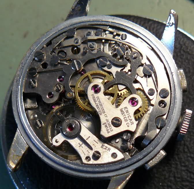 Chronographe Enicar R92 2yv1klg