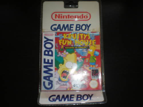Topic des jeux game boy sous blister rigide 166zrrm