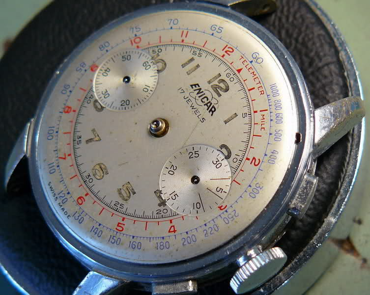 Chronographe Enicar R92 1zb6re1