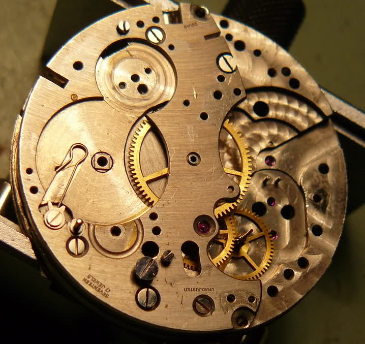 Chronographe Breitling Premier 1946 venus 175 3 compteurs 2chrket