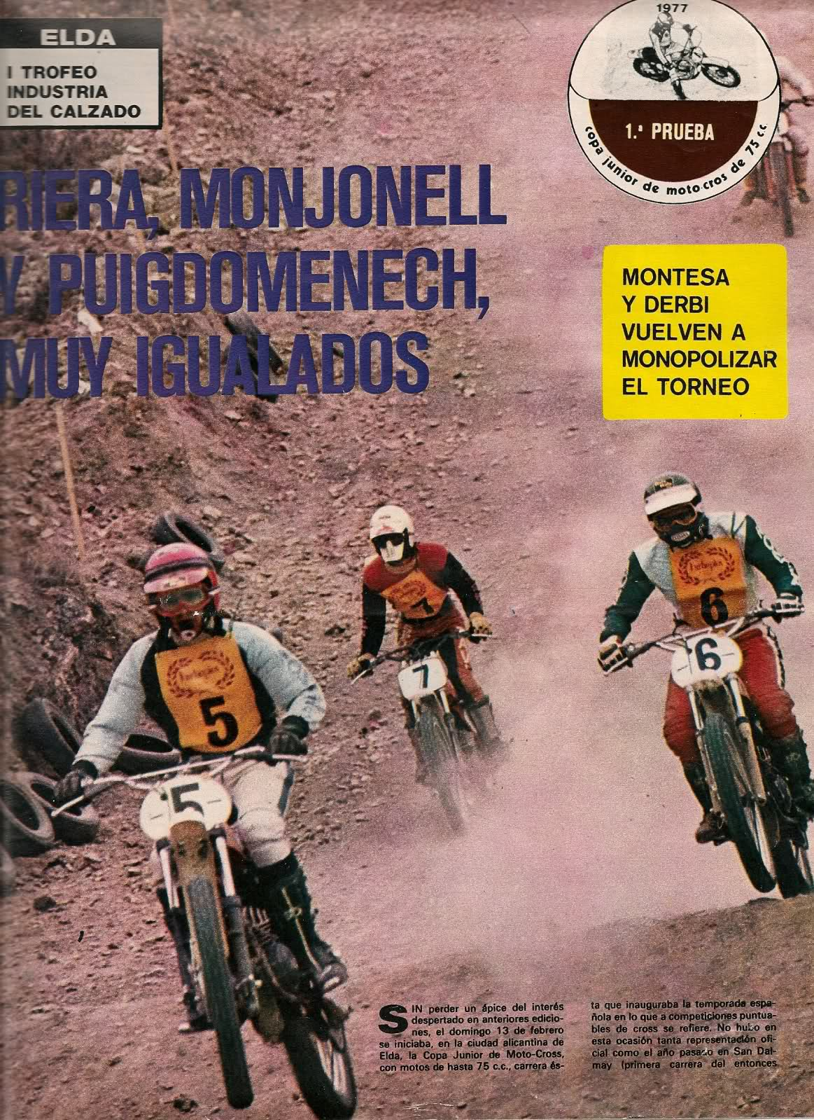 Motociclismo - 1977 - Copa Junior 74 2ll0umc