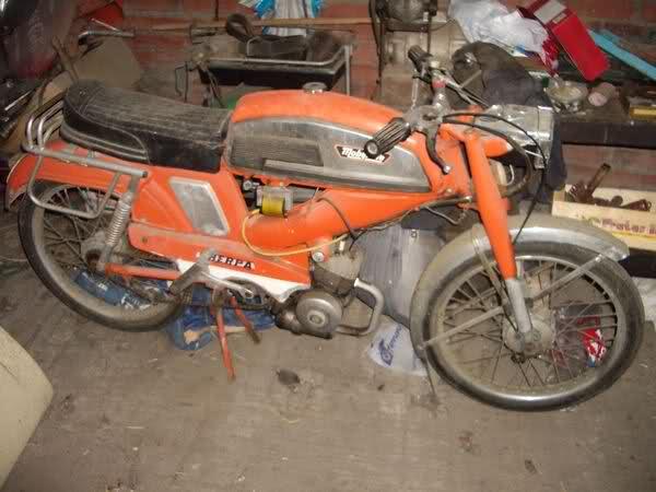 Depósito del Mobylette SP-90 2lt2161