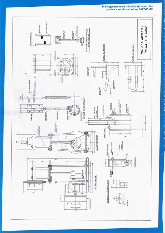 Motor a vapor Reina de África 30uxt9e