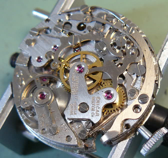 Chronographe Enicar R92 33v0x2d