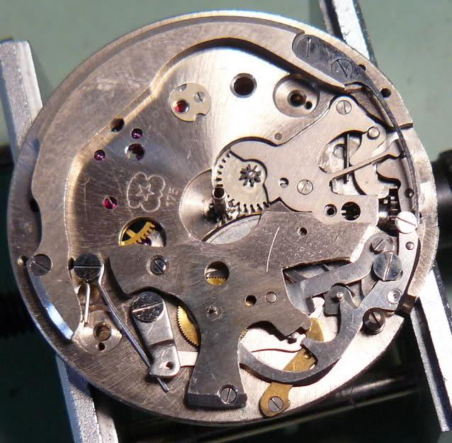 Chronographe Breitling Premier 1946 venus 175 3 compteurs I76i5f