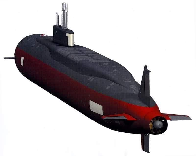 Project 955: Borei class SSBN Zkpahd