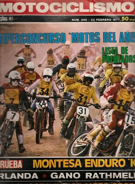Motociclismo - 1977 - Copa Junior 74 10cnc6q