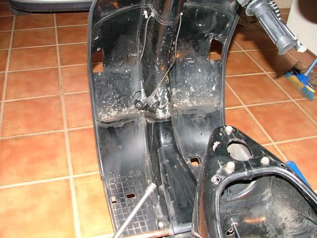 Restauración Vespa 200 TX 10pqbud