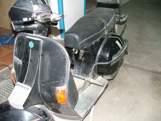 Restauración Vespa 200 TX 154c602