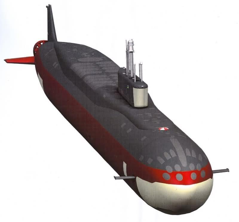 Project 955: Borei class SSBN 250qolx