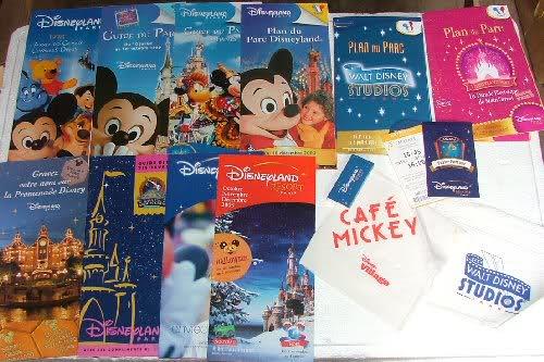 souvenirs gratuits de Disneyland  Paris à ses débuts 259dg5z