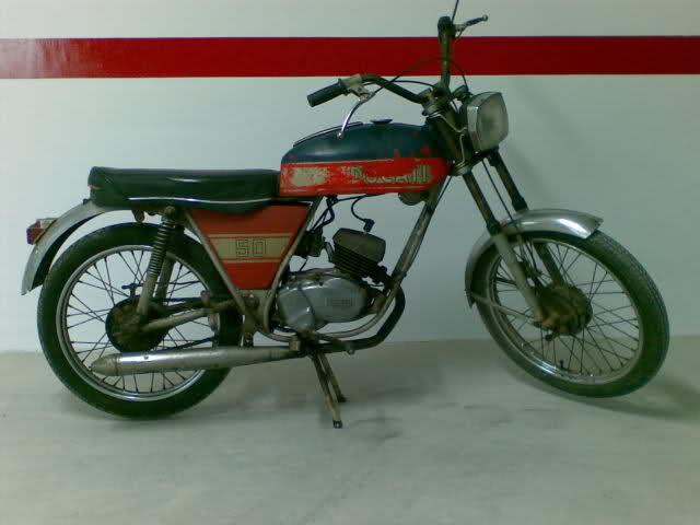 Mis ciclomotores Ducati 54bqsi