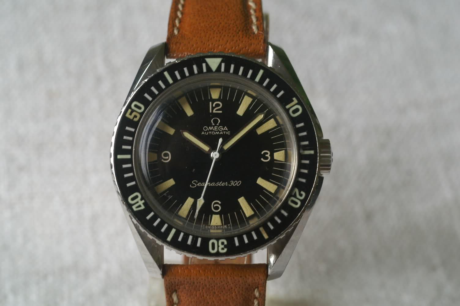 FEU de vos seamaster 300 vintage ou watchco Op1egw