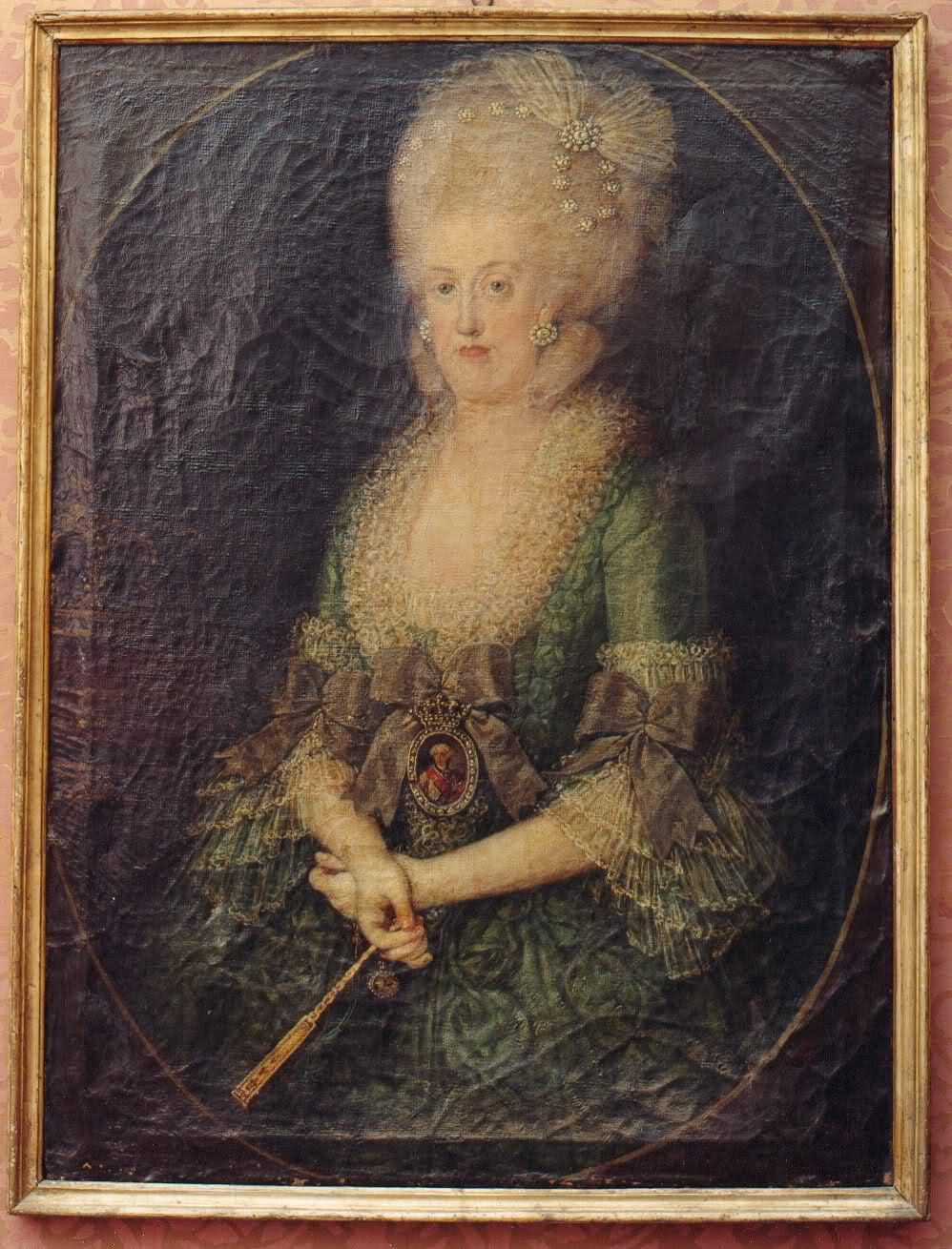 La reine Marie-Caroline de Naples 295y2cj