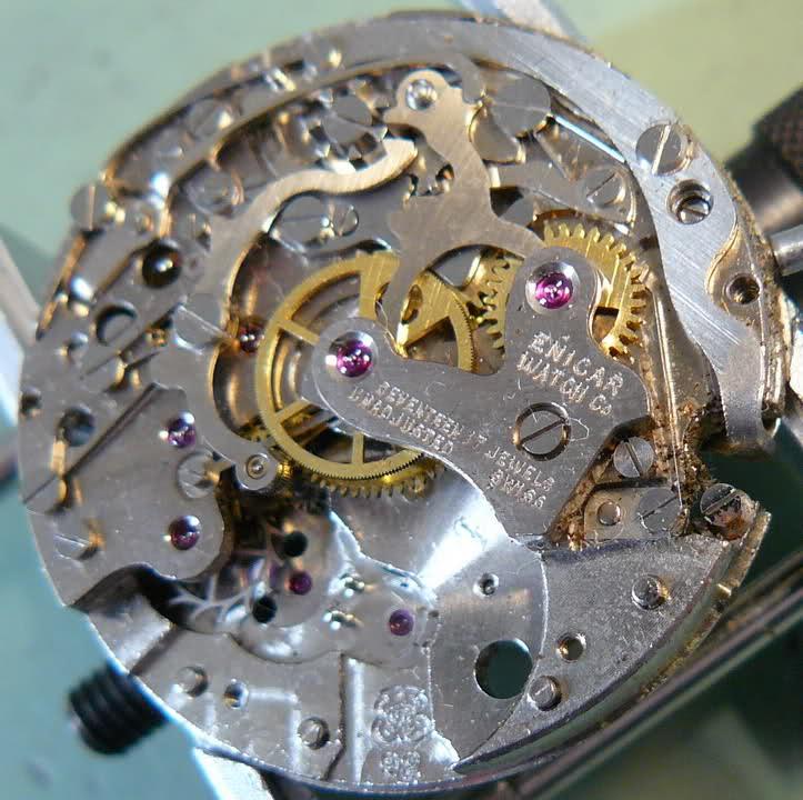 Chronographe Enicar R92 2vb2cgk