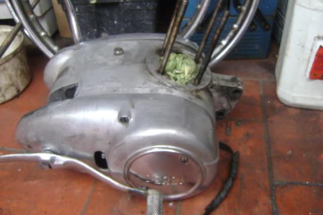 Restauración Derbi Super 4V 125 - Aitor 34qoksl