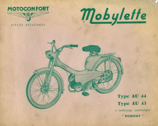 La Mobylette AV 44,por CIC. 2aklk4o