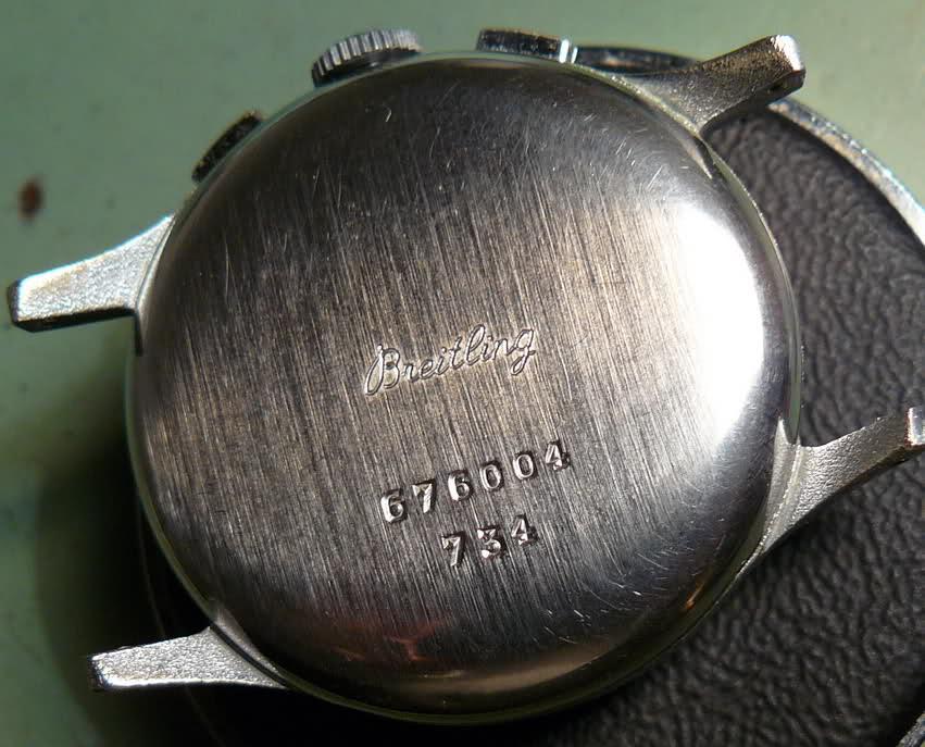 Chronographe Breitling Premier 1946 venus 175 3 compteurs 2dgj2ft