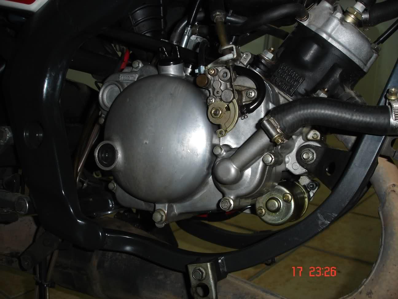 Fuga de aceite en Yamaha TZR 80 RR 2nlgscn