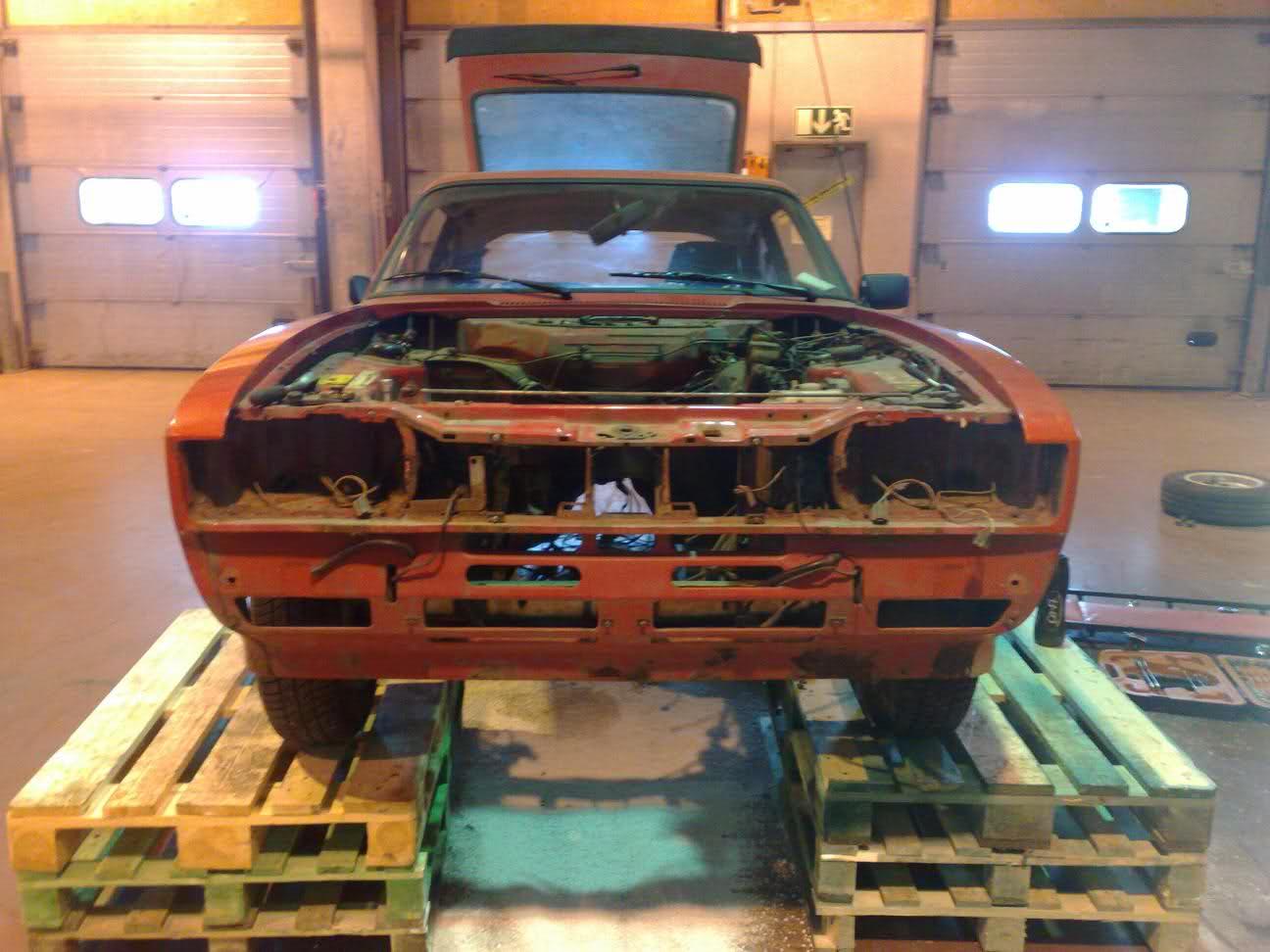Håcke-Ford Capri Bromsad 327whp 583wnm SÅLD 346nce0