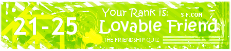 Friendship week: Come play 'You're Tagged!' Ffb7o7
