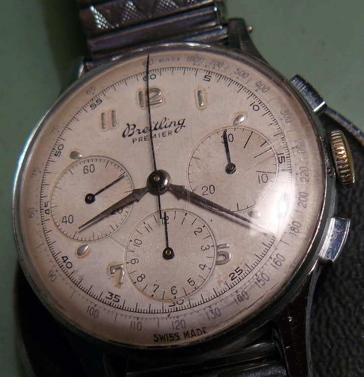 Chronographe Breitling Premier 1946 venus 175 3 compteurs Jpekc4