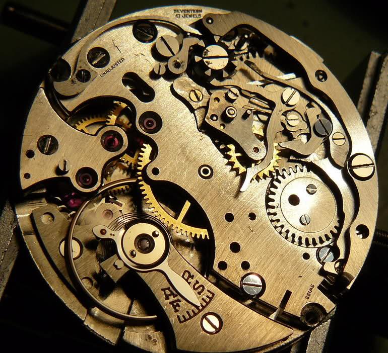 Chronographe Breitling Premier 1946 venus 175 3 compteurs Xlh0s8