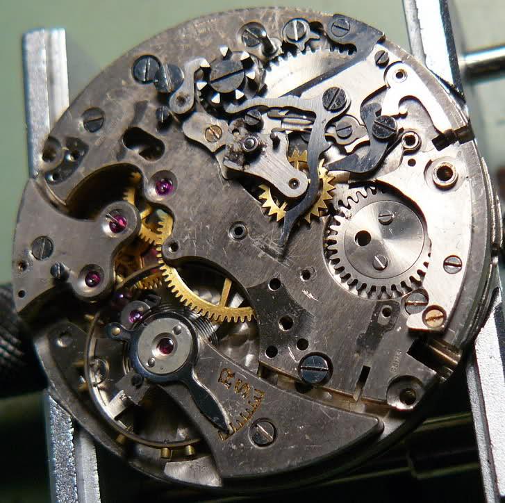 Chronographe Breitling Premier 1946 venus 175 3 compteurs 2w52fzl