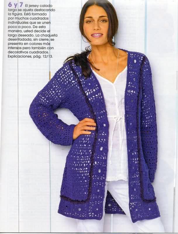 CROCHET - Busco abrigos de verano a crochet calados  2z7lvvd