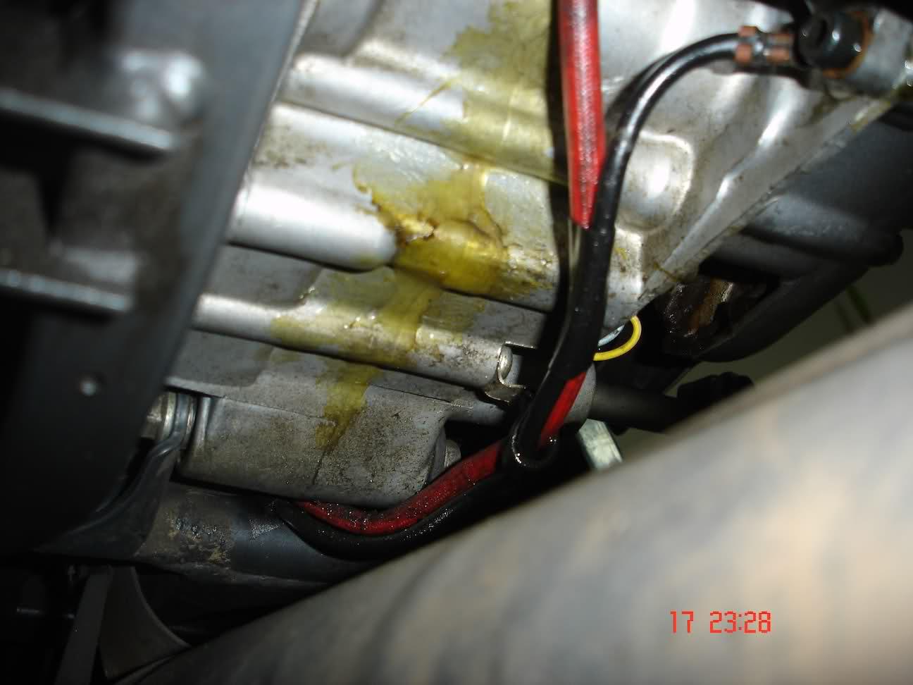 Fuga de aceite en Yamaha TZR 80 RR 313rmud