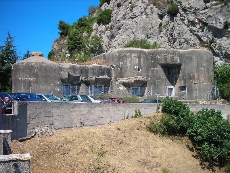 Ouvrage de Sainte Agnès (06) 33c14zc